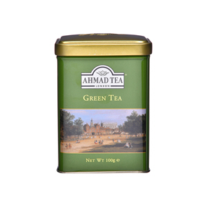 Ahmad Tea Green Tea Loose Caddy 100gm