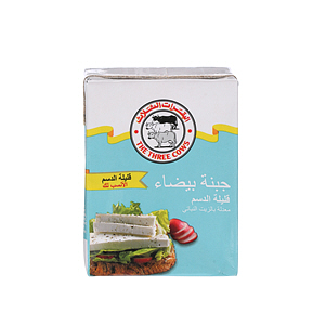 The Three Cows White Cheese Low Fat 200gm