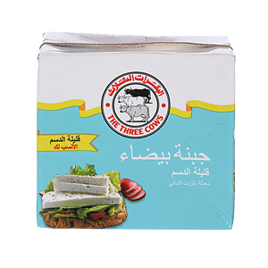The Three Cows Feta Low Fat Cheese 500gm