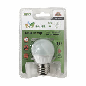 Sharjah Coop Led Lamp 3.8W -240V Yellow