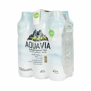 Aquavia Natural Alkaline Water 500ml
