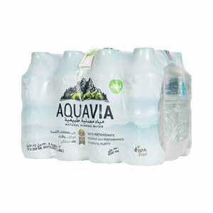Aquavia Natural Alkaline Water 330ml