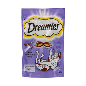 Dreamies Cat Food with Duck 60gm