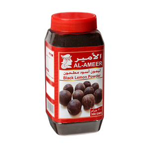 Al Ameer Lemon Powder Black 300gm