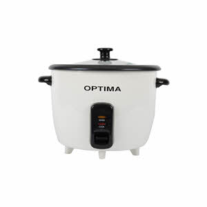 Optima Rice Cooker with Steamer 1.8Ltr
