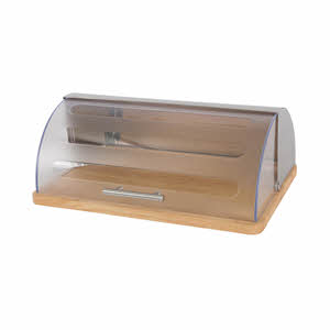 Art Of Living Bread Bin W/Wooden Board