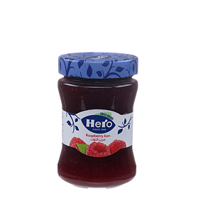Hero Raspberry Preserve Jam 340gm