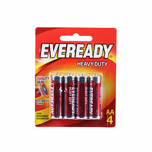 Eveready Battery Heavy Duty Red Series 1015Bp4