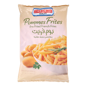 Americana French Fries 1Kg