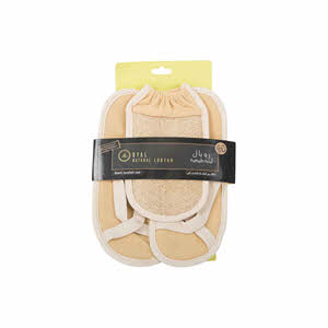 Royal Natural Bath Set Loofah
