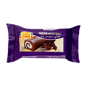 Sara Mini Roll Chocolate 25Gm