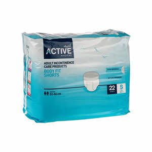 Active Adult Diapers Short- Junior