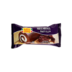 Sara Mega Roll Chocolate Cake 60Gm
