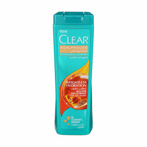 Clear Shamp Scalpfds Weigtls Hy 400Ml