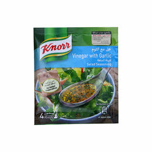 Knorr Salad Seasoning Vinegar With Garlic 10gm × 4PCS