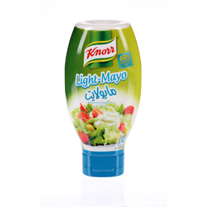 Knorr Mayonnaise Light Plastic Bottle 532ml