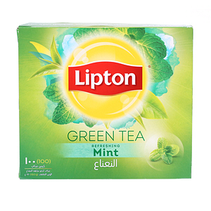 Lipton Green Tea Mint 1.5gm x 100'S