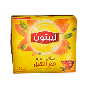 Lipton Yellow Label Tea with Cardamom 100'S