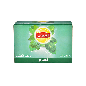 Lipton Herbal Tea Peppermint 1.8gm × 20'S