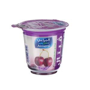 Almarai Vetal Flavoured Youghurt Black Cherry 140gm