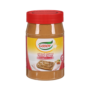 Goody Peanut Butter Chunky 510gm