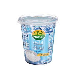 Nada Greek Yoghurt Plain Full Fat 360gm