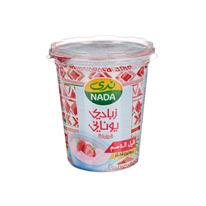 Nada Greek Flavoured Yoghurt Strawberry Low Fat 360gm