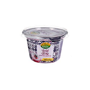 Nada Greek Flavoured Youghurt Black Berry& Raspberry Full Cream 160gm