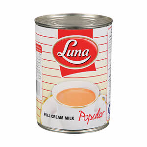 Luna Evaporated Milk Popular 410gm