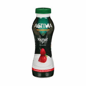 Activia Drink Strawbeery & Wild Strawberry 280Ml