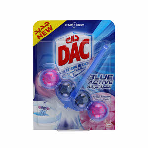 Dac Toilt Cleaner Blu Active Fresh Flowers 50Gm
