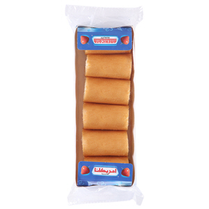 Americana Mini Roll Strawberry 120gm × 6'S