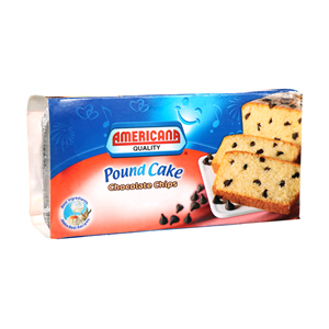 Americana Pound Cake Chocolate Chips 300g m