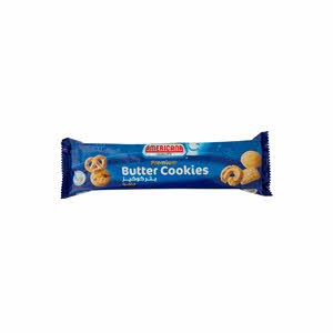 Americana Butter Cookies Large Blue 100gm