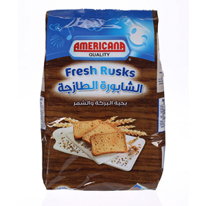 Americana Rusks Brown 350gm