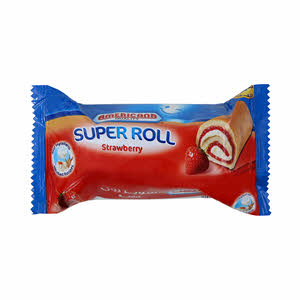 Americana Super Roll Strawberry 60Gm