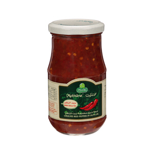 Halwani Ground Red Pepper In Olive 375gm