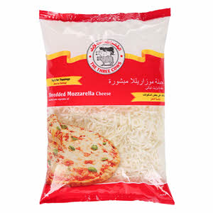 The Three Cows Shredded Pizza Topping 1Kg