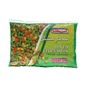 Americana Mixed Vegetables 450gm