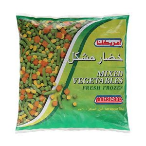 Americana Mixed Vegetable 900gm