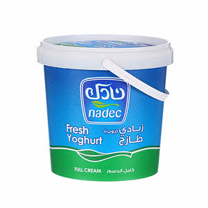 Nadec Fresh Yoghurt Full Fat 1Kg