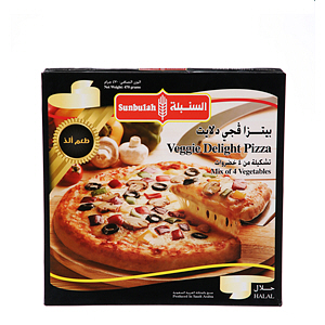 Sunbullah Veggie Delight Pizza 470gm
