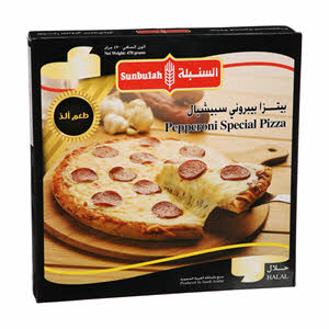 Sunbulah Pepperoni Special Pizza 470gm