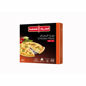 Sunbullah Spicy Chicken Pizza 470gm