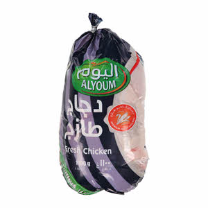 Whole Chicken Fresh Bag Pack 1100Gm