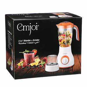 Emjoi 2In1 Blender +1 Grinder 400W