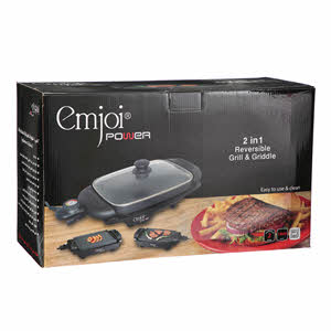 Emjoi Electrical Grill & Grid 1800W