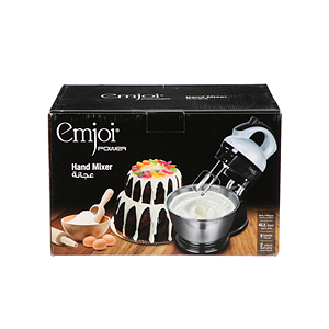 Emjoi 5-Speed Hand Mixer With Bowl 300W UEHM-420M