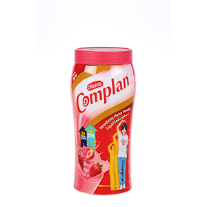 Complan Strawberry Bottle Powder Drink 400gm