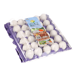 Al Bustan White Eggs Large 30'S